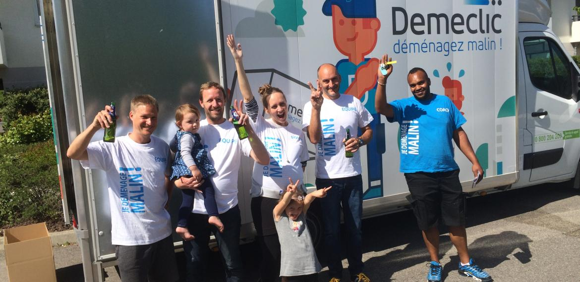 Demeclic, la solution de déménagement participatif